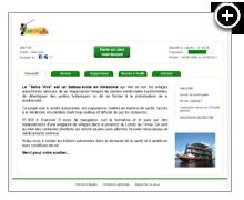 Arutam - Mini-site de projet